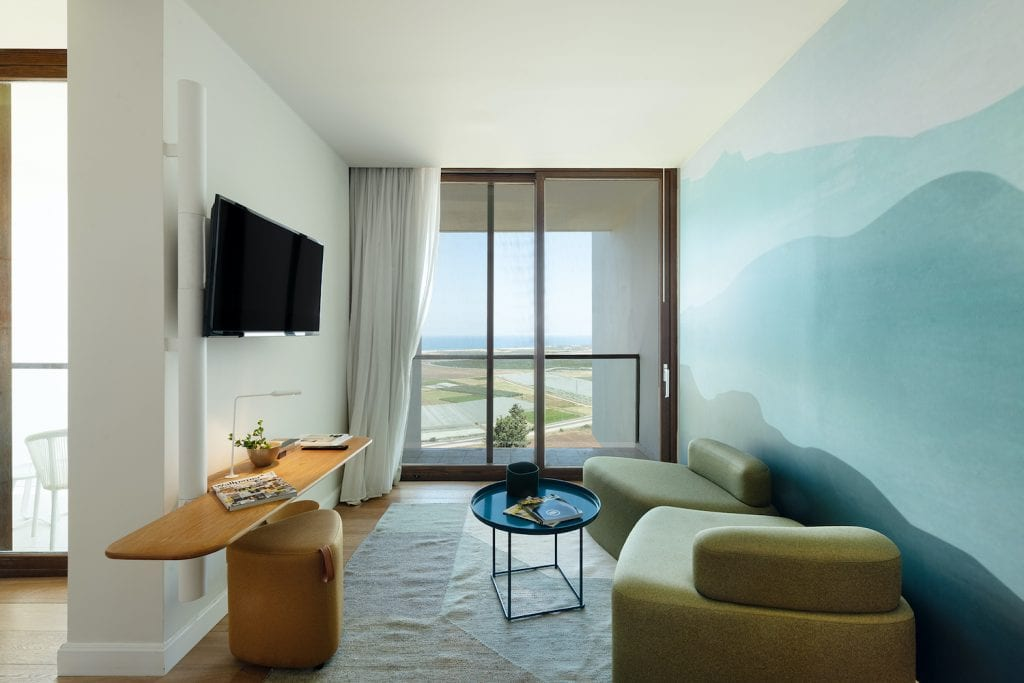 אלמא חדרי המלון - פנים