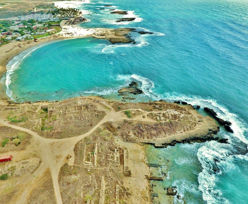 טיול לחוף דור ולשמורת הבונים