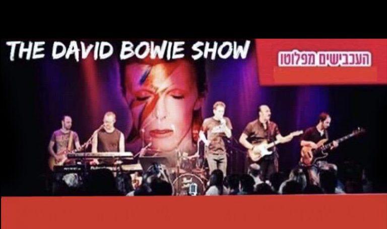 """חוה""""מ סוכות: """"The David Bowie Show"""" - העכבישים מפלוטו"""